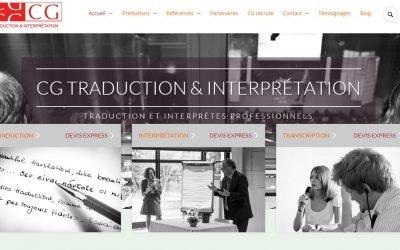 Nouveau site CG: CG Traduction & Interprétation évolue …. !